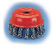 KRO-185x160 Twist Knot Cup Brushes ( Heavy Duty ) - KRO Type