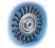 KIT-185x160 Twist Knot Wheel Brushes ( Stringer Beat Twist ) - KIT Type