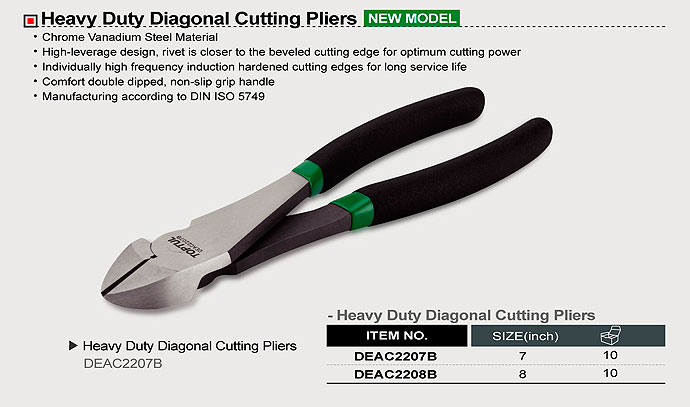 DEAC-330x237 Heavy Duty Diagonal Cutting Pliers - DEAC