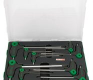 GAAL0926-185x160 9PCS Extra Long Type Ball Point Hex Key Wrench Set - GAAL0926