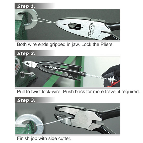 Safety Wire Twisting Pliers - DACA - Malaysia Hardware Shop   Mee ...