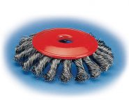 KE-185x160 Twist Knot End Brushes With Shank - KE Type
