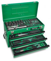 GCAZ114A-211x250 114PCS Professional Mechanical Tool Set W/3-Drawer Tool Chest - GCAZ114A